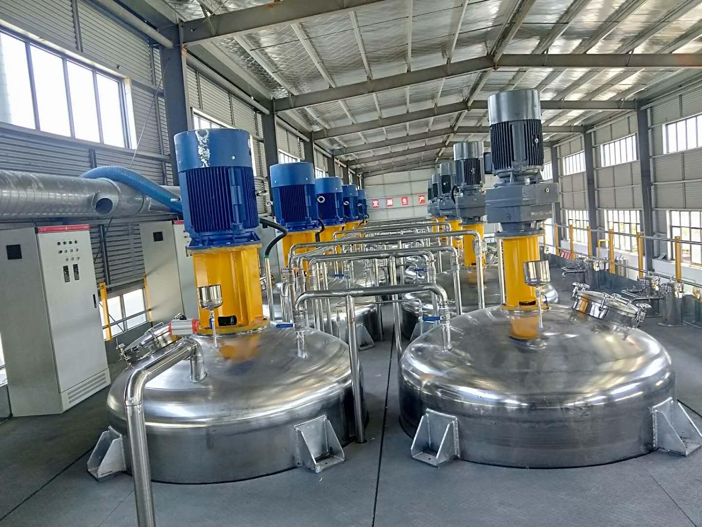 年产1万吨水性工业漆生产线
